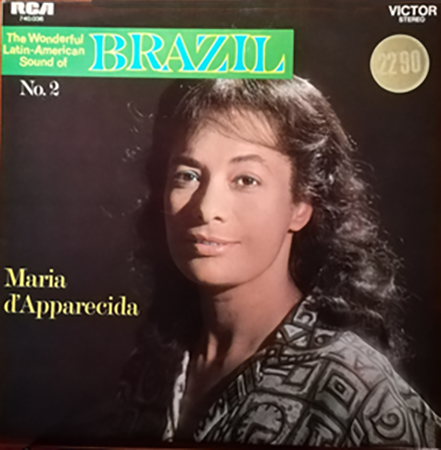 photo du disque The Wonderful Latin-American Sound of Brazil, recto